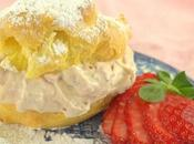Strawberry Cream Puffs #BakingBloggers