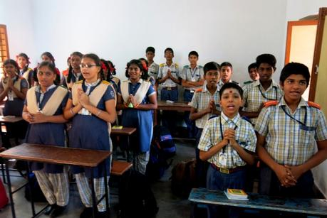 Visit to Balalbhanu School and a Service Project