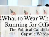 What Wear When Running Political Office: Woman Candidate's Capsule Wardrobe