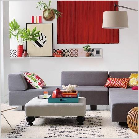 decor pops of colour