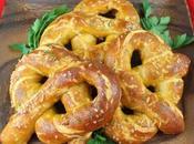 Cheddar Garlic Soft Pretzels #BreadBakers