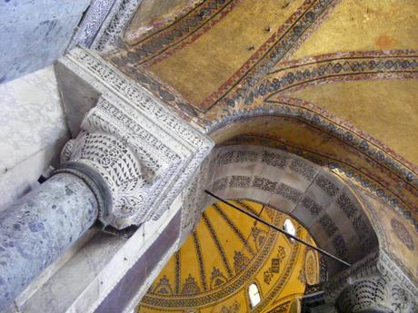 interior view Hagia Sophia Istanbul city tour