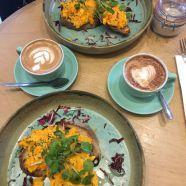 Have brunch at Brown & Rosie cafe, Kensington