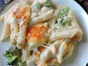 Cheesy Rigatoni with Tuna Broccoli