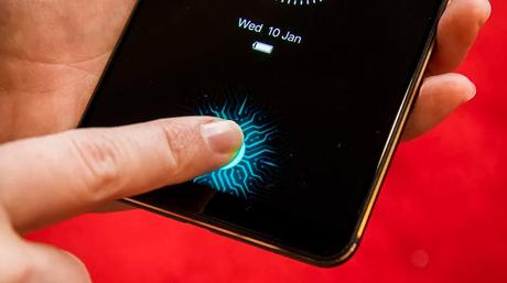 Vivo, In display fingerprint sensor,In display fingerprint scanner, vivo upcoming phones
