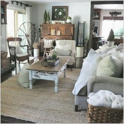 Farmhouse Living Room Decorating Ideas More Eye Catching Paperblog