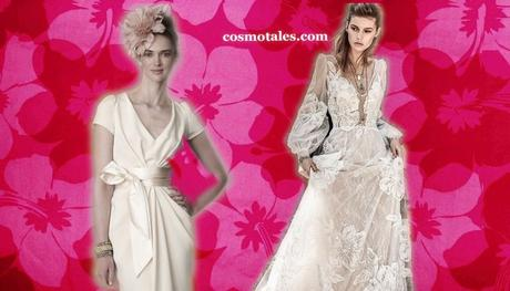 The Puffed Sleeve Trend In Wedding Gowns