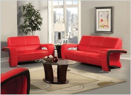 living room decorating ideas with red leather sofa and black wood 78ff9c929dd54d25