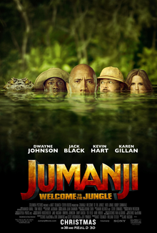 Today's Review: Jumanji: Welcome To The Jungle
