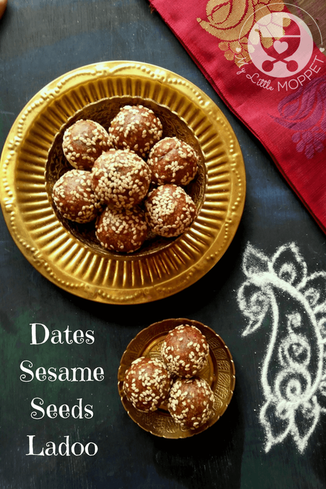 This Sankranti, try a little healthy twist on a traditional favorite by making this dates sesame seeds ladoo recipe. Packed with iron and protein!