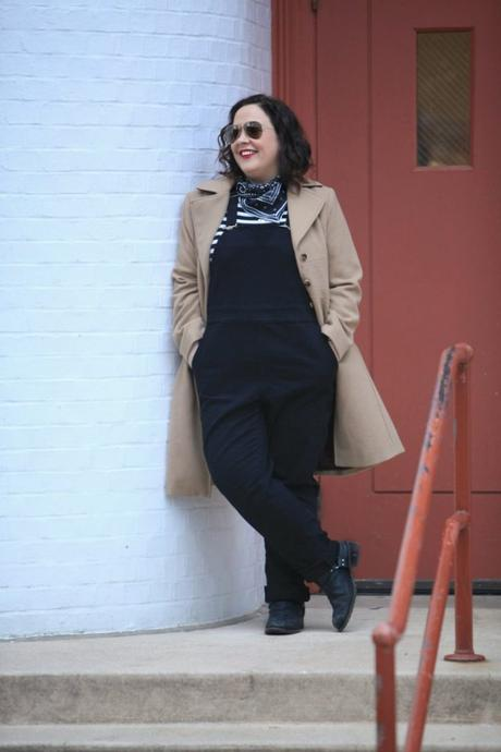 What I Wore: Universal Standard Overalls