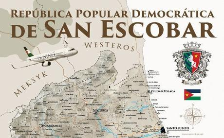 Dziwaczne Odkrycia: Backpacking in San Escobar, Another Country That Doesn't Really Exist, But is Recognised By Witold Waszczykowski