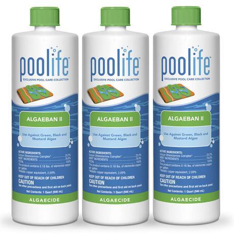 Poolife Algaecide_Algaeban_Green Pool Water