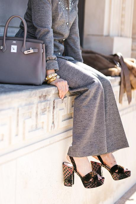From Grandma with Love // Embellished Pant Set