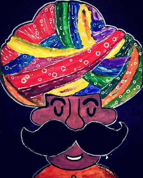 Want to draw an Indian Version of Mario? - The Turban Mario