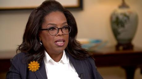 Oprah Winfrey Discuss The  Impact Of #TimesUp With Women in Hollywood
