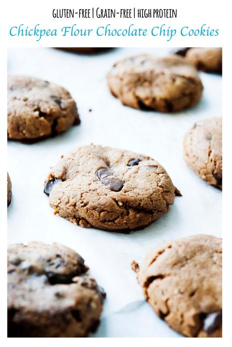 Chickpea Chocolate Chip Cookies (gluten-free)