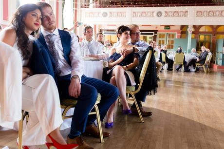 Couples feel loved up during speeches Best York Documentary Photography