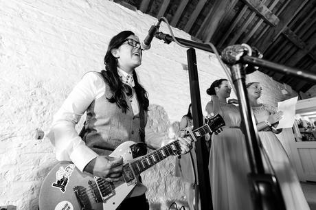 Bride sings for her speech Best York Documentary Photography