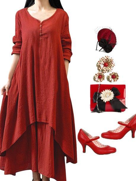 Newchic vintage dress