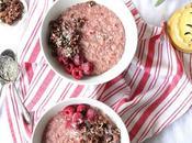 Raspberry Coconut Porridge Vegan Recipe