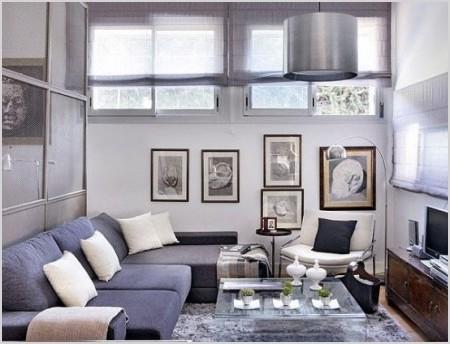 decoracin de pequeos espacios elegantes y confortables en color gris