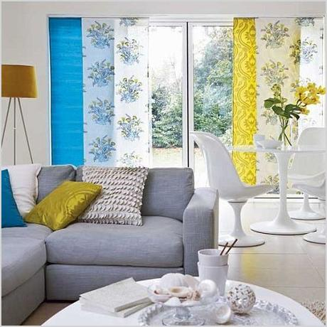 blue gray and yellow living room decor pics and home decorating