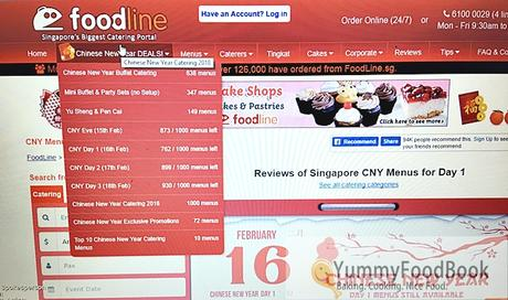 FOODLINE.SG – CHINESE NEW YEAR CATERING 2018