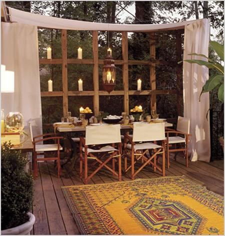 outdoor spaces creating privacy