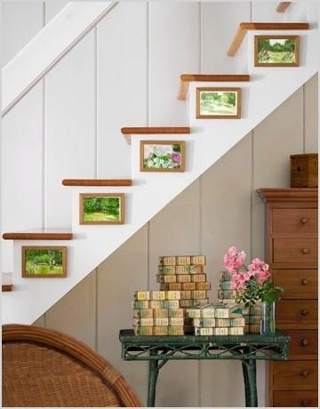 staircase wall decorating ideas modern staircase other