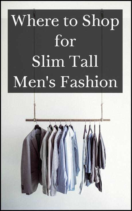 Where to Shop for Slim Tall Men's Fashion