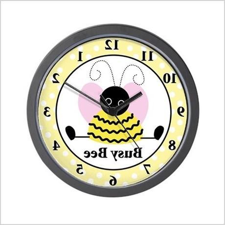 little bee busy bee wall clock 540177954