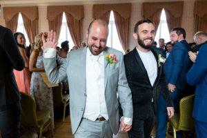 A fun Yorkshire Wedding at Vicotria Hall in Saltaire
