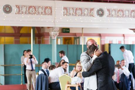 First dance emotional hugs A fun Yorkshire Wedding