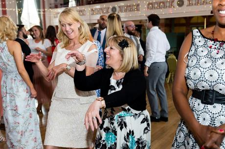 Guests dancing silly A fun Yorkshire Wedding