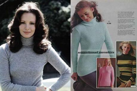 Jaclyn-Smith-and-Sears---1970s - sweater-fashion