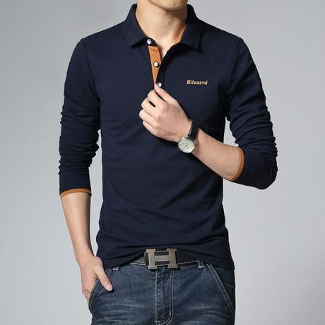 long sleeve polo shirts for men Newchic