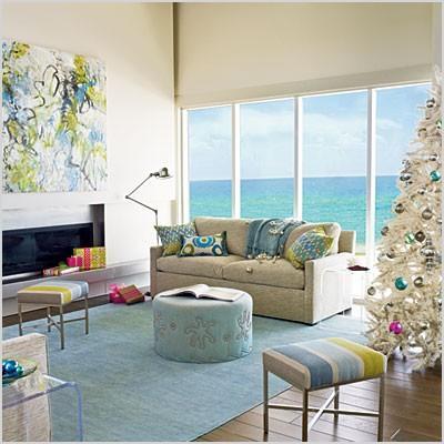 beach decorating ideas living room
