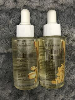 Collagen, Vitamin A and Retinol Oils