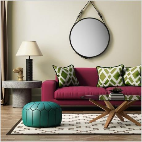 creative decorating with mirrors