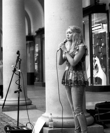 We interview sensational busker Lydia Gerrard – you may have seen Lydia perform at London's Waterloo Station
