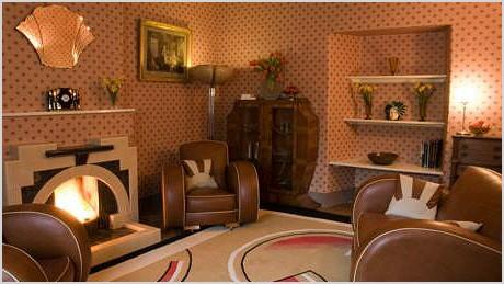 1930s interiors werent all black gold and drama