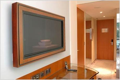 wall mounted lcd and plasma tv frames by hd envy