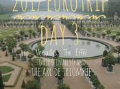 2017 Eurotrip Versailles, Effel Tower (Finally!) Triomphe