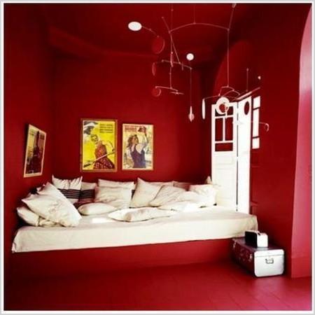decorar en rojo y blanco