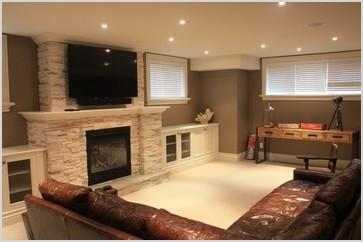 small basement family room ideas basement recreation room contemporary basement toronto by