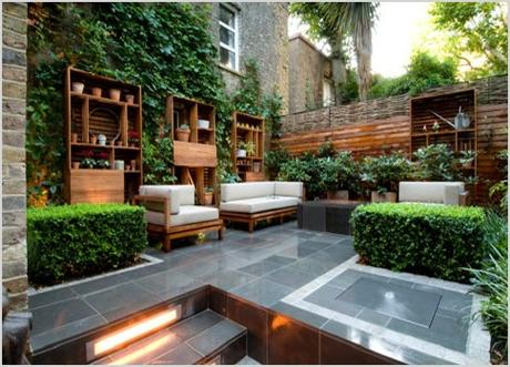 how to prepare an outdoor living room