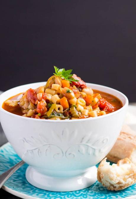 Make This Super Easy Minestrone Soup in 30 Minutes
