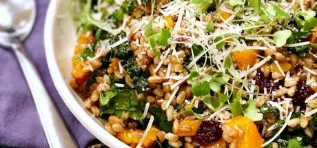 Recipe: Italian Farro Salad with Kale & Butternut Squash1 min read
