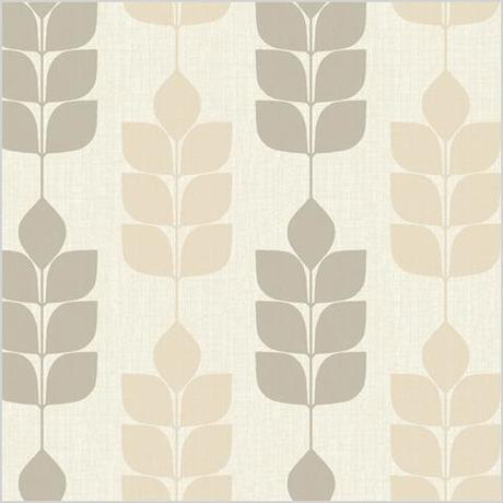 white and brown modern petals wallpaper midcentury wallpaper